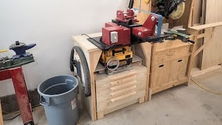 Making The Belt Grinder / Planer Stand