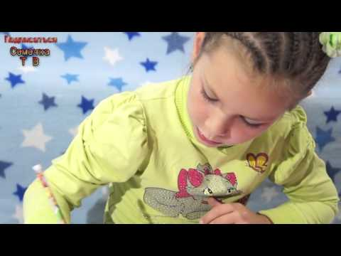Рисуем макияж Барби Набор для девочек Раскраски Barbie с помощью шаблонов лицо руки смотре