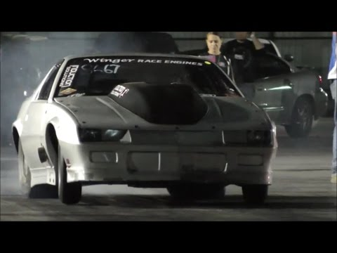 "Derek ""Silver Unit"" Camaro vs turbo stang"