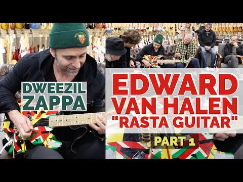 Watch Dweezil Zappa Show Off Eddie Van Halen's 'Rasta Guitar'