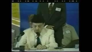 Inaugural Address by Hazrat Sahibzada Mirza Muzaffar Ahmad Jalsa Salana, America 2001
