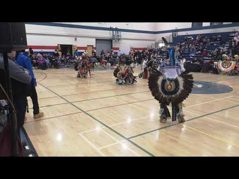 Men's Traditional Strathmore High School Powwow 2019
