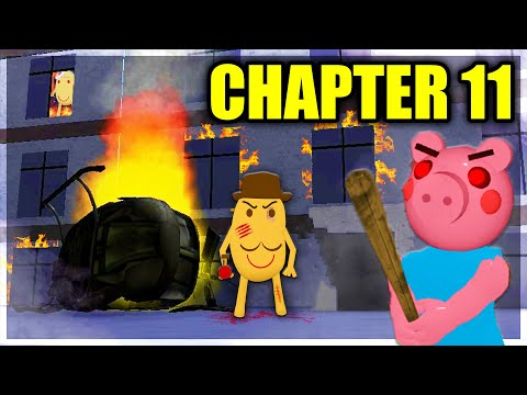 PIGGY CHAPTER 11.. HELICOPTER CRASH!? (Map Revealed)
