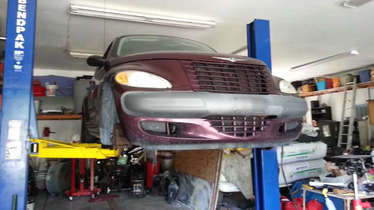 pt cruiser install of the lower control arm 39 s youtube. Black Bedroom Furniture Sets. Home Design Ideas
