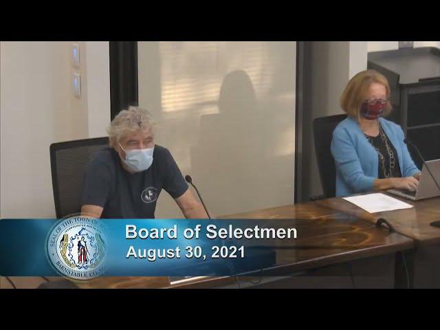 Board of Selectmen 8-30-21