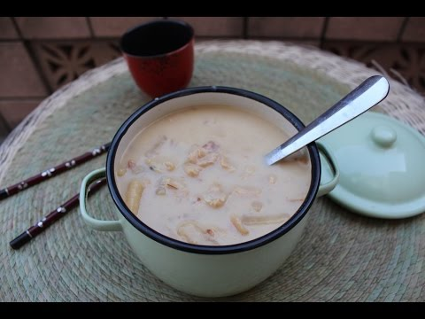 Clam Chowder - with Coconut milk - Asian Fusion style