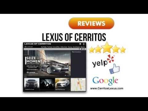 Lexus Dealer REVIEWS Cerritos, CA Dealership - YouTube