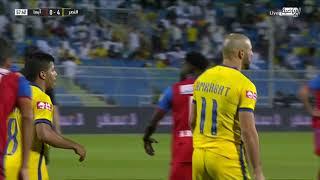 مباراة #النصر و أبها