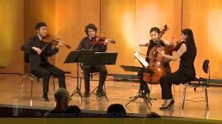 JOSEPH JOACHIM Chamber Music Competition: Quartet Berlin Tokyo plays Brahms String Quartet No. 2