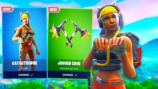 The *NEW* CAT SKIN IS AMAZING! (Fortnite Item Shop)