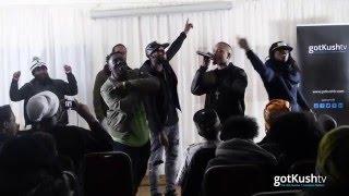 JAHAZIEL - Live at OMX STORM 2016 for gotkushTV