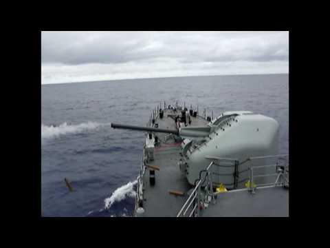 Tiro naval 100 mm