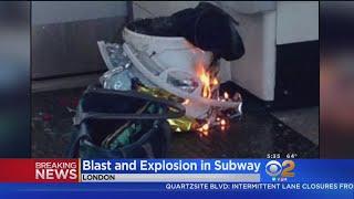 22 Injured In London Underground Train Explosion thumbnail