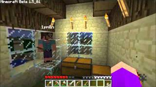 #23 Wonderment Plays Minecraft - Surrounded By Lava