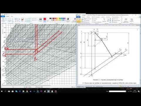 Курсовая по НиТД, 1 часть-Построение процесса расширения пара в турбине
