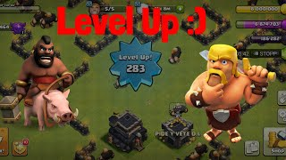 Clash of Clans Pushing to level 300😍🔥   REQUEST N LEAVE