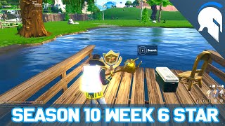 Fortnite - Season 10 Week 6 Secret Battle Pass Star Location - [TJK]