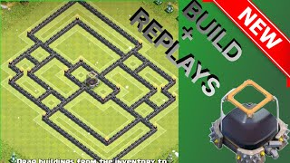 EPIC Th11 DE Farming/Hybrid Base! 30% Shield | The React | Build + Replays - Clash Of Clans