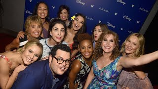 EXCLUSIVE: Mandy Moore and the Original Disney Princesses React to Sharing the Stage at D23