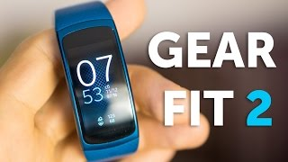 Отзыв о Samsung Gear Fit 2, опыт использования и впечатления (не обзор)