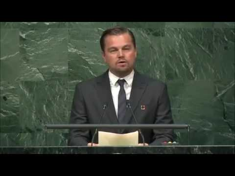 FULL SPEECH: Leonardo DiCaprio Delivers Powerful Climate Change Speech At The UN