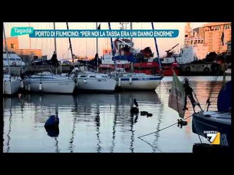 Porto di Fiumicino:'Per noi la tassa era un danno enorme'