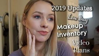 My Makeup Inventory & Introduction To My 2019 Low Buy