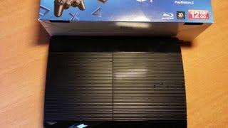 Sony Playstation 3 Super Slim Unboxing und Kurztest Deutsch HD