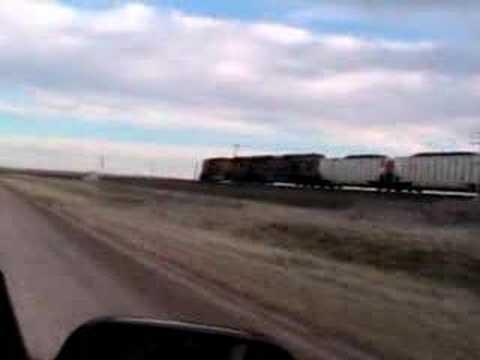 Chasing Trains in South Dakota