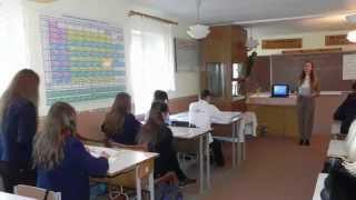Відкритий урок з біології - 9 клас, в рамках Тижня географії і біології.
