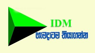 IDM Crack කරන හැටි   How to Crack IDM