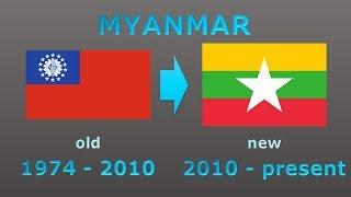 New national flags of the 21st century