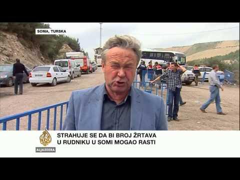 Andrew Simmons o rudarskoj nesreći u Turskoj