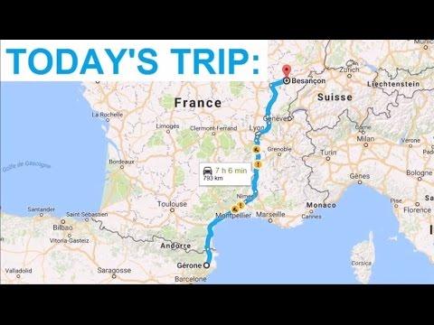 [Roadtrip #32 - Spain] Driving from Girona to AP-7 through C-65