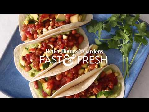 Food Mashup: Chopped Salad Tacos | Cooking: How-To | Better Homes & Gardens