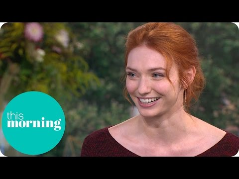 Poldark's Eleanor Tomlinson On Demelza And Series Two  This Morning
