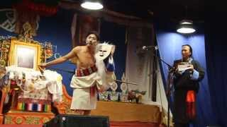 Tibetan Losar Dreka performace by Tsering Lodoe Ex-Tipa