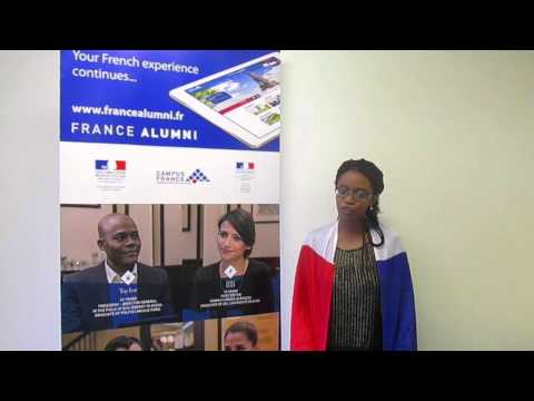 French Government Master Scholarship holder Lebohang Moloisane