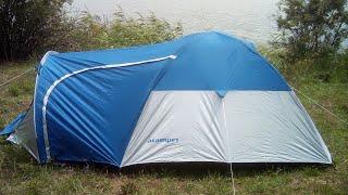 Обзор и сборка палатки  acamper monsun 3
