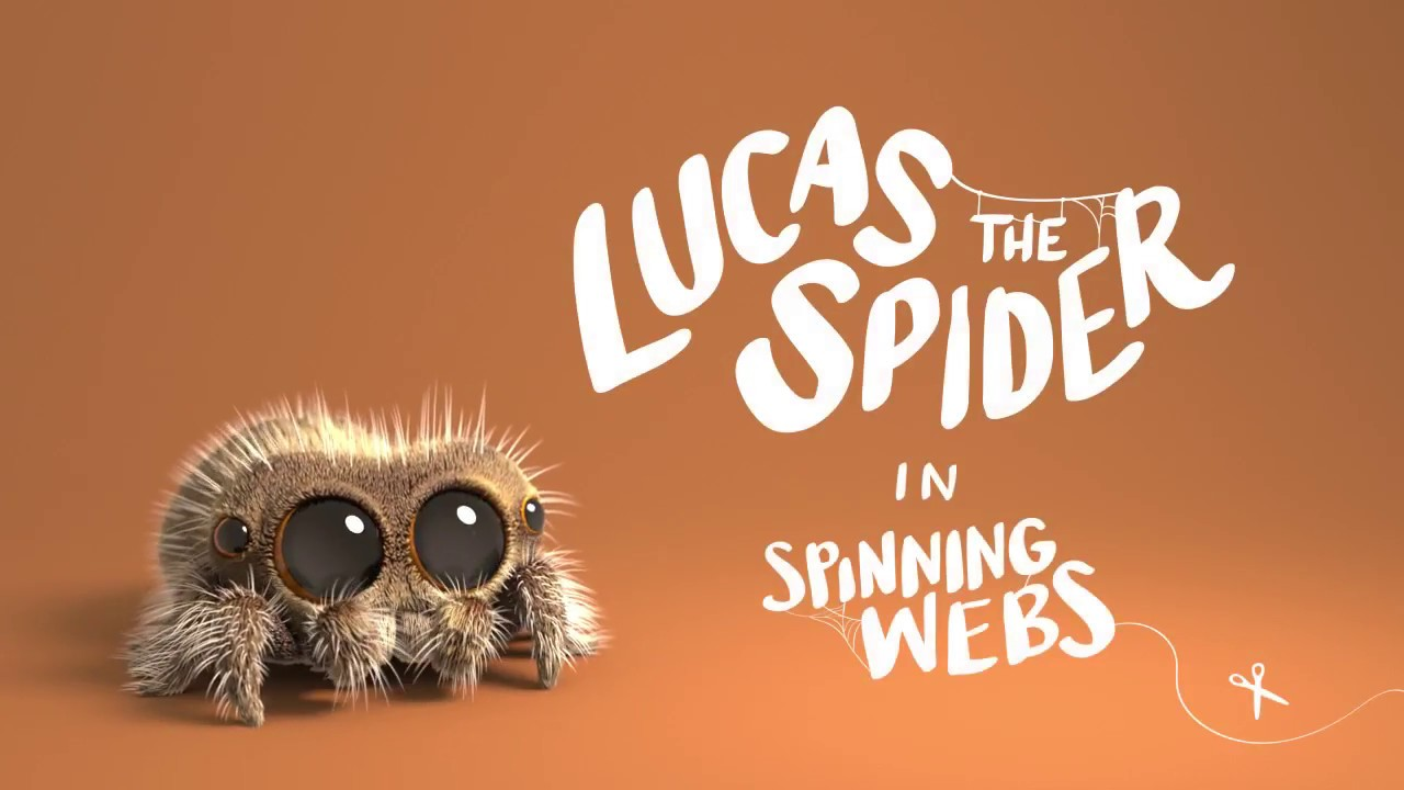 Lucas the Spider in 'Spinning Webs'