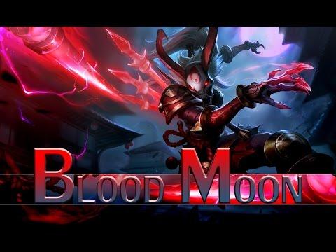 League of Legends: Blood Moon Kalista (Skin Spotlight)
