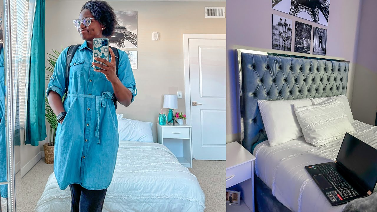 Bedroom Makeover   Furnishing My New Apartment + Shopping at Smith's Marketplace