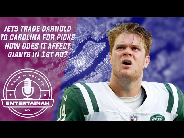 New York Jets trade Sam Darnold to Panthers for picks! How could this affect New York Giants draft?