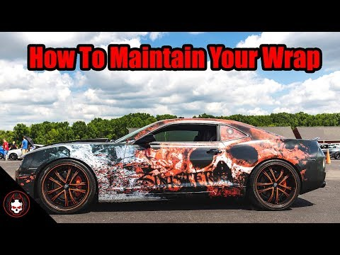 How to Clean and Maintain Your Wrap | Chevy Camaro | The Sinister Camaro