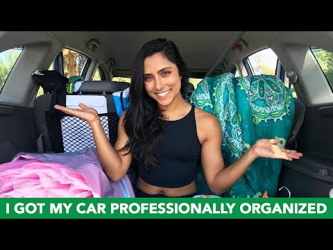 I Got My Car Professionally Organized