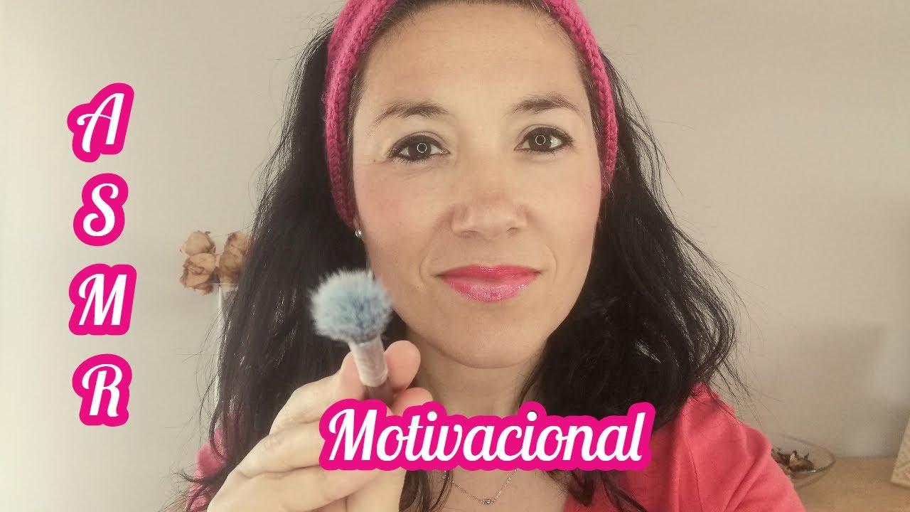 ASMR motivacional | Susurros | Seminaudible | Brushing