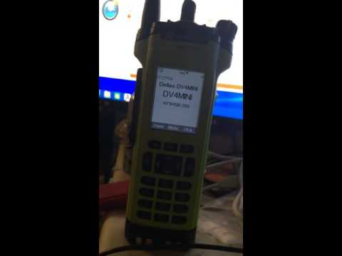 DV4-MINI p25, with Motorola APX7000