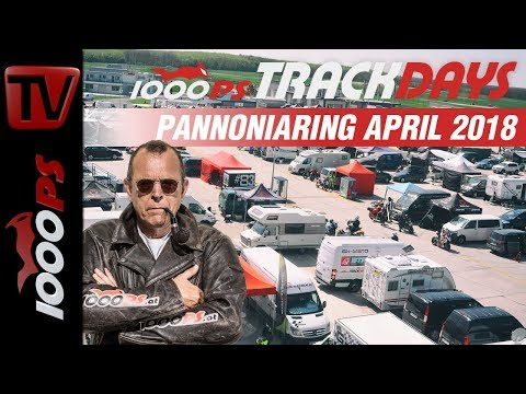 1000PS Bridgestone Trackdays - Eventvideo | Pannoniaring April 2018