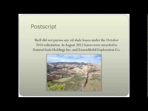 Temis Taylor - Mixing Oil Shale and Water Rights: A Case Study in Western Colorado