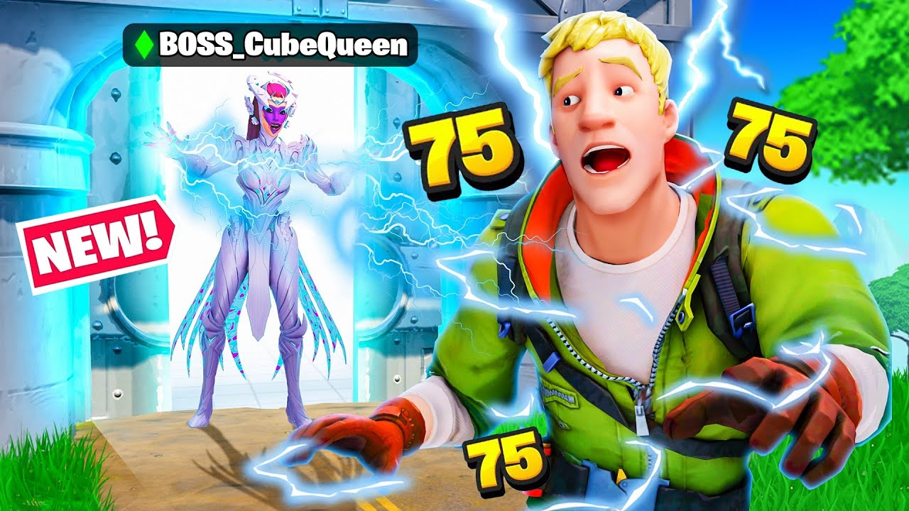Download I Pretended To Be BOSS Cube Queen - Fortnite